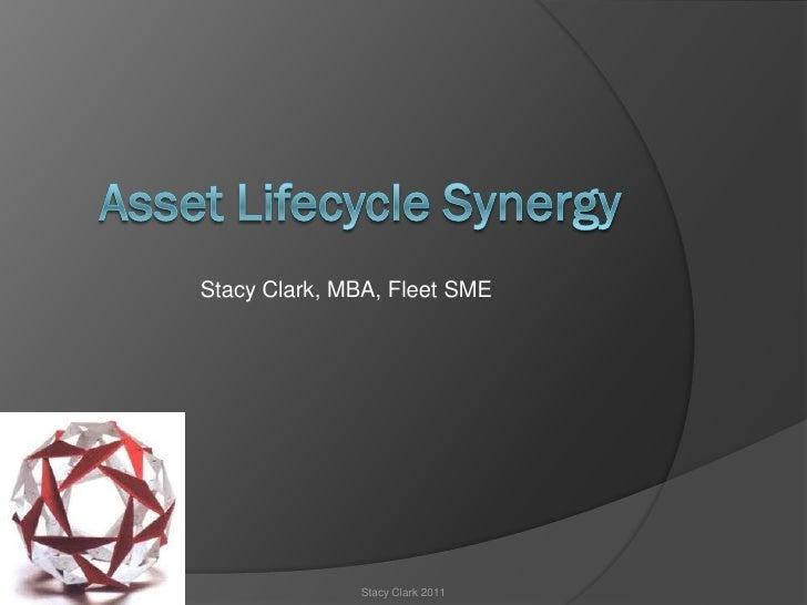 Stacy Clark, MBA, Fleet SME              Stacy Clark 2011