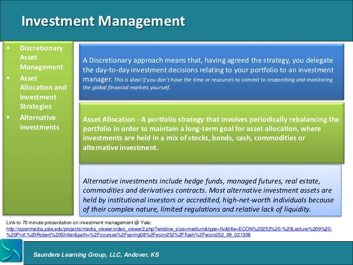 Investment Management Firms