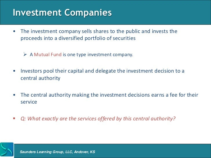 Overview of Asset Management Firms – Define Business Investment