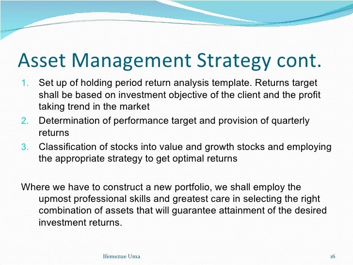 How to Write an Asset Management Plan - UPDATED