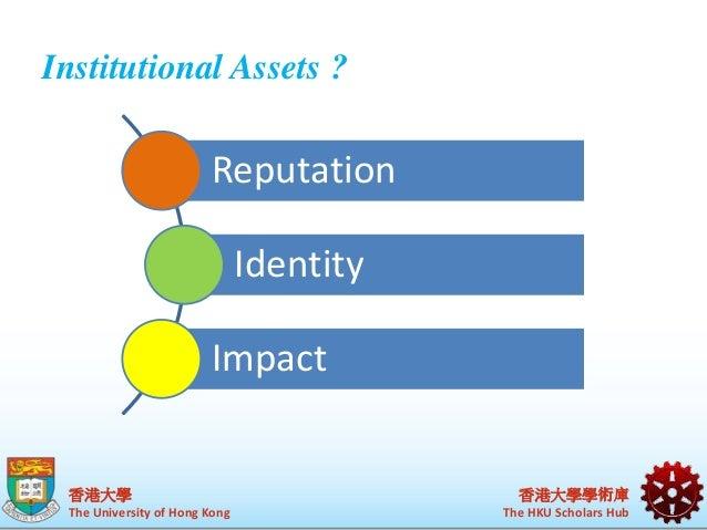 """Collaborative management of institutional assets"""" HKU's CRIS Slide 2"""