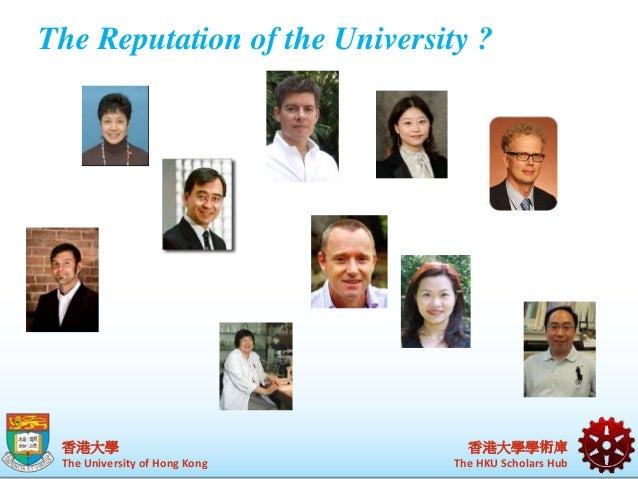 """Collaborative management of institutional assets"""" HKU's CRIS Slide 3"""