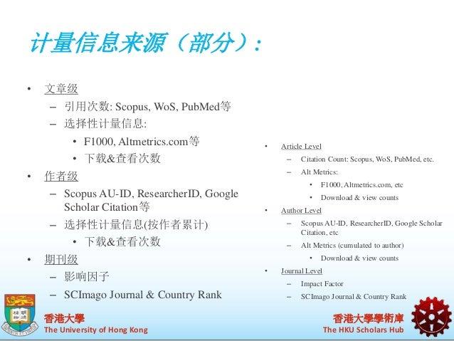 识别管理(部分)  香港大學  The University of Hong Kong  香港大學學術庫  The HKU Scholars Hub  • 每位学者  – Google Scholar Citation  – ImpactSto...