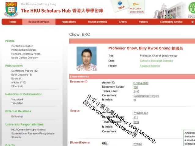 香港大學  The University of Hong Kong  香港大學學術庫  The HKU Scholars Hub  36