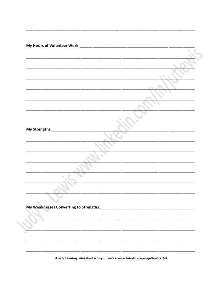 assets inventory worksheet job search 12 essential steps for a satis. Black Bedroom Furniture Sets. Home Design Ideas