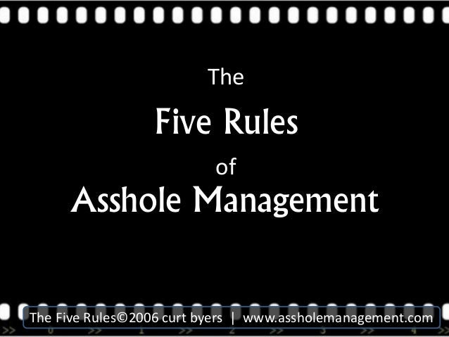 Rules for asshole photos 136