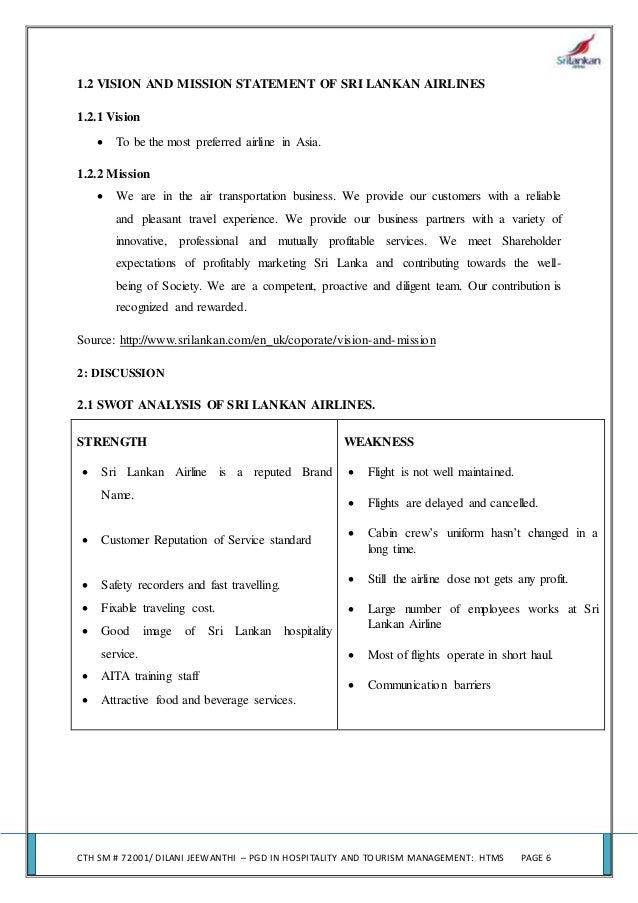 Organizational structure analysis case study srilankan airlines
