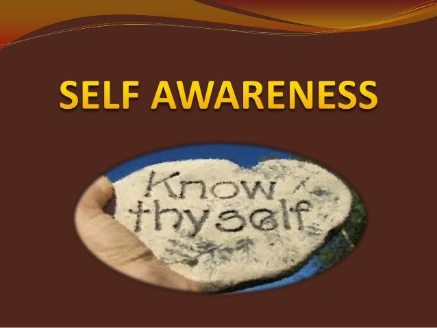 topic 2 self awareness 1 The first building block of emotional intelligence is self-awareness self-awareness is our ability to recognize our own emotions and.