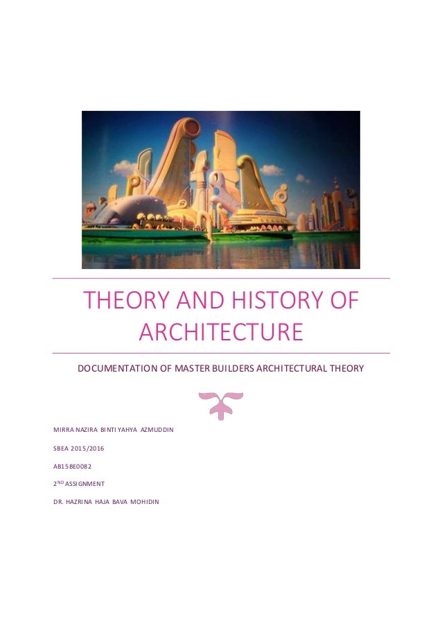 HISTORY OF ARCHITECTURAL THEORY EBOOK