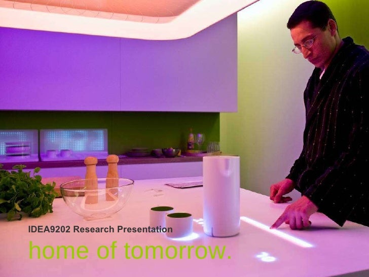 IDEA9202 Research Presentation _Ambient Intelligence.