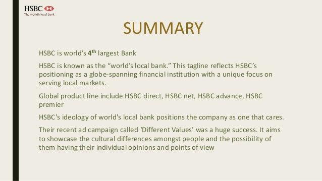HSBC Case Study IIM Lucknow Marketing Intern