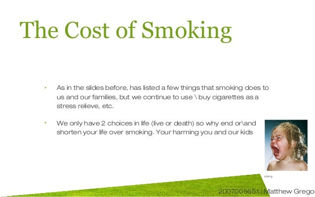 the damages of smoking essay One of the most common problems today that are killing people, all over the  world, is smoking many people start this horrible habit because of.