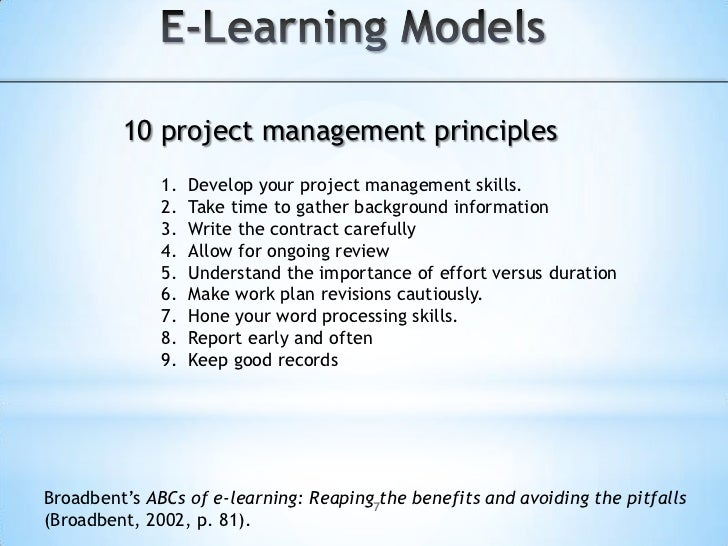 E-Learning Models<br />Evaluate.<br />Evaluation helps developers make conclusions about the impact of this online worksho...