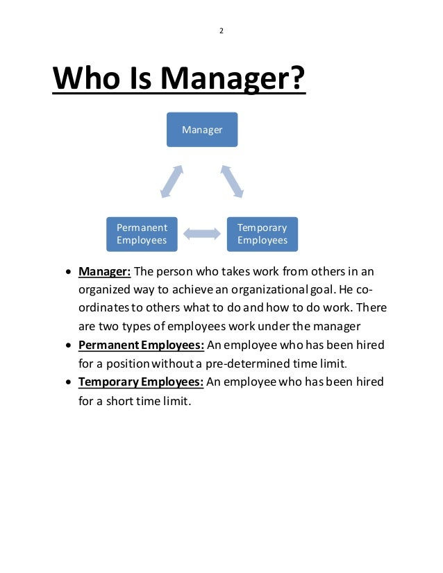 Management And Organization/ Management Function And Skills