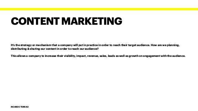 Inbound and Social Media Marketing - Assignment 5 Slide 3