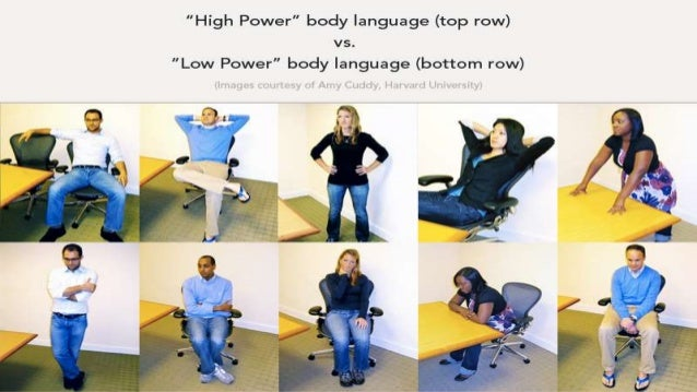 body language shape who you are Amy cuddy: your body language shapes who you are 1 so i want to start by offering you a free no-tech life hack, and all it requires of you is.