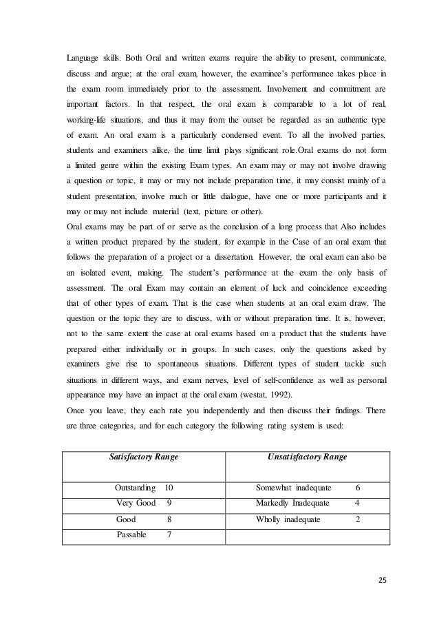 Essay on the Examination System of India