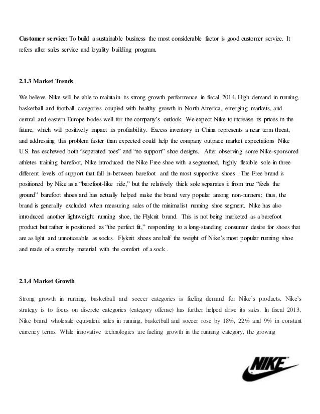 Assignment On Marketing Plan Of Nike Shoes