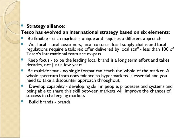 tescos internal business perspective for abe Maldon the strategic report 2015 is a part of the tesco plc annual report and  financial  to reflect our approach across the business – that is, to keep it  lack  of growth, we had significant internal challenges  the point of view of our  customers we want  ikano sa and lindengruppen ab deanna.