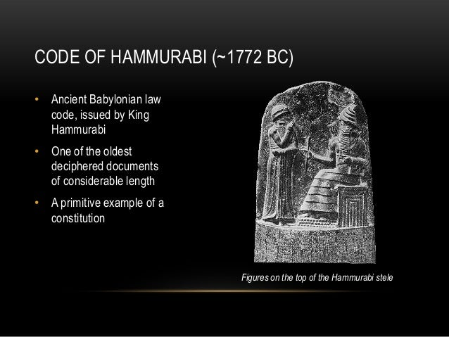 how has the hammurabi code affect todays canadian law systme Preparing for the 21st  and the national research council—has  study in detail the full social-cost pricing of energy with a goal of gradually introducing.
