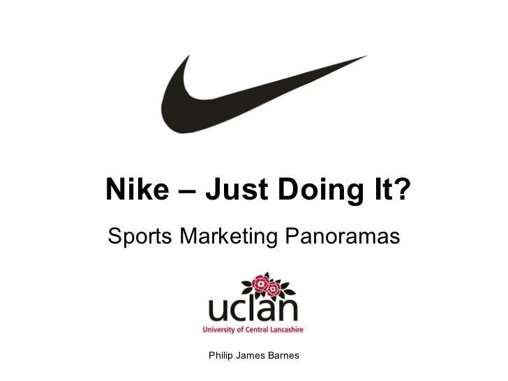 Nike – Just Doing It? Sports Marketing Panoramas