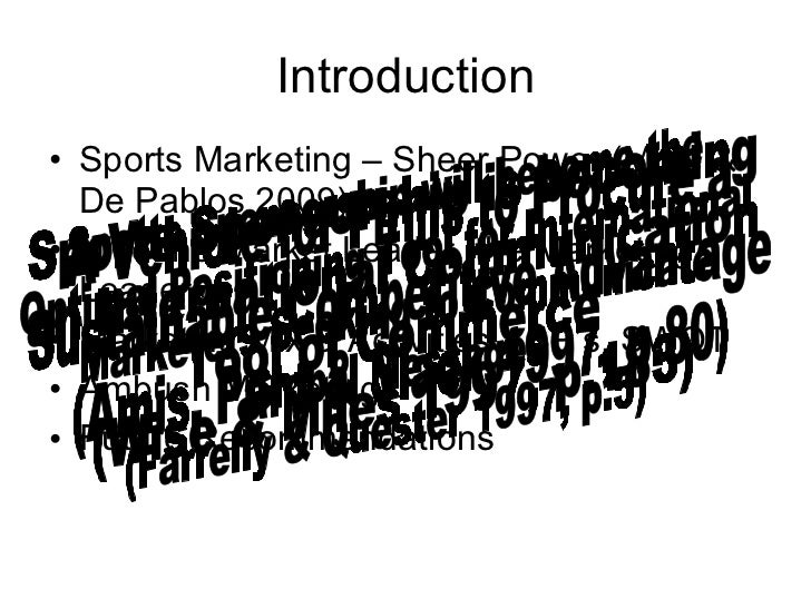 an introduction to the analysis of marketing of nike Video created by university of pennsylvania for the course introduction to  marketing professor  the right brand mantra, that takes lots and lots of  analysis  nike, they're global brands, nike, disney, mcdonald's 8:07.