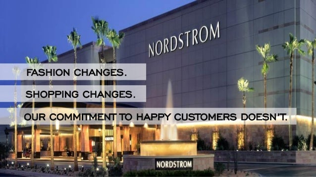 a case study nordstroms a upscale Case study — nordstrom: dissension in the ranks 1 mar the anti-sas harvard business school case study 9-191-002 questions the compensation policies and practices of nordstrom, which are inextricably linked with its high-touch customer-service culture.