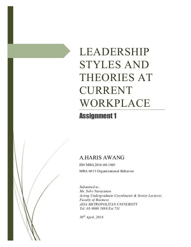 leadership current theories Leadership: current theories, research, and future directions annual review of psychology, 60, 421-449 avolio, b j, reichard, rj, hannah, st, walumba, fo, & chan, a, (2009) a meta-analytic review of leadership impact research: experimental and quasi-experimental studies, the leadership quarterly , 20(5),.