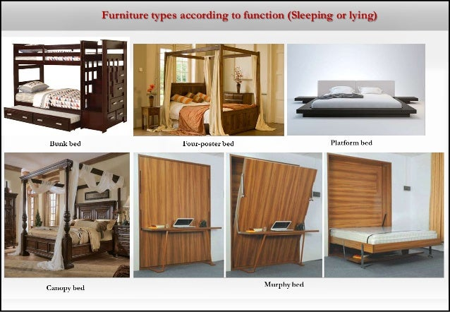 types of furniture design living room furniture types according to function sleeping or lying research about furniture design