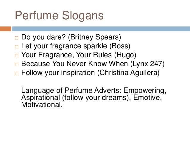 GCSE Media Perfume Advertising