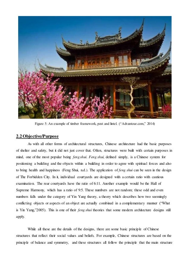 chinese architecture report