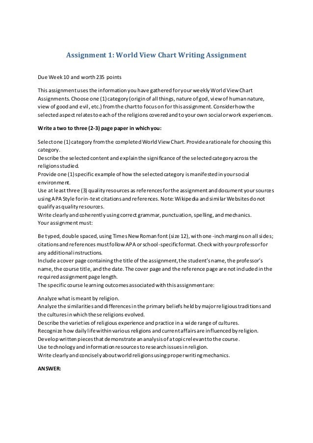 written assignment 1 discrimination Racism and discrimination essay racism and discrimination essay 1  effectivepapersblogspotcom is a writing resource with plenty of sample essays,.