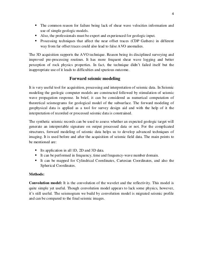 quantitative and qualitative seismic interpretation of seismic data 4
