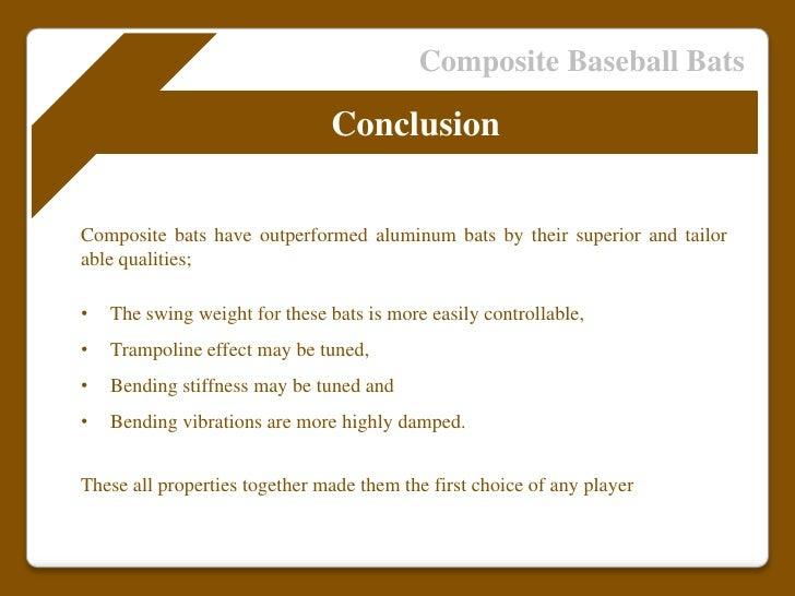Composite Bats vs Aluminum Bats