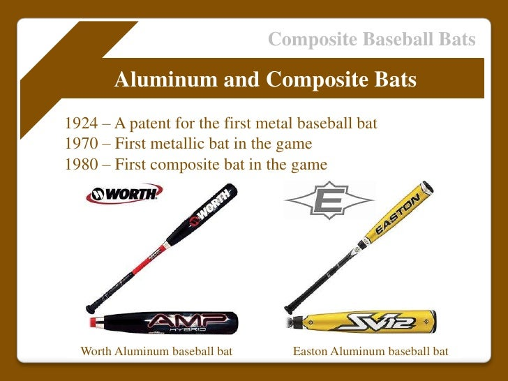 Wood Baseball Bat Manufacturing Process Composite Baseball
