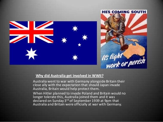 WWII US, AUSTRALIAN, JAPANESE AND GERMAN INVOLVEMENT