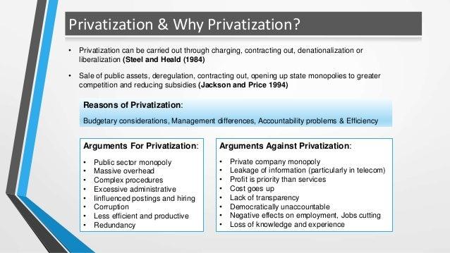 case study on ptcl privatization