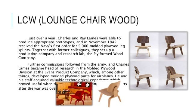 19. HOW LCW CHAIR ...  sc 1 st  SlideShare & Charles and Ray Eames