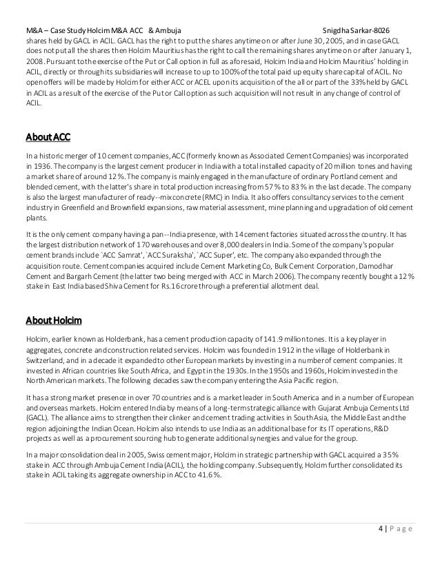 gsk merger case study Growth through merger a: case study  511 documenting glaxo wellcome and smithkline beecham merger process 54  study found that this was a merger where neithe .