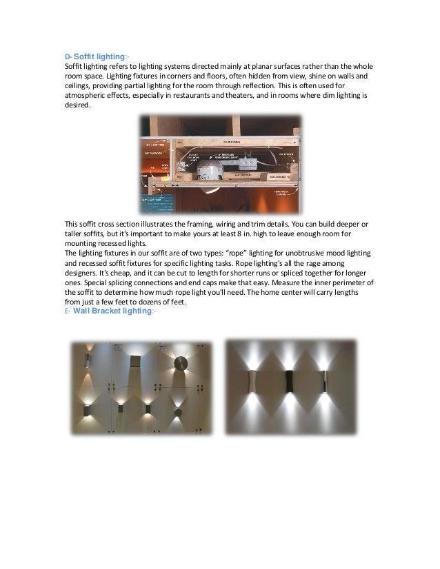 5. D- Soffit lighting- ...  sc 1 st  SlideShare & indirect light