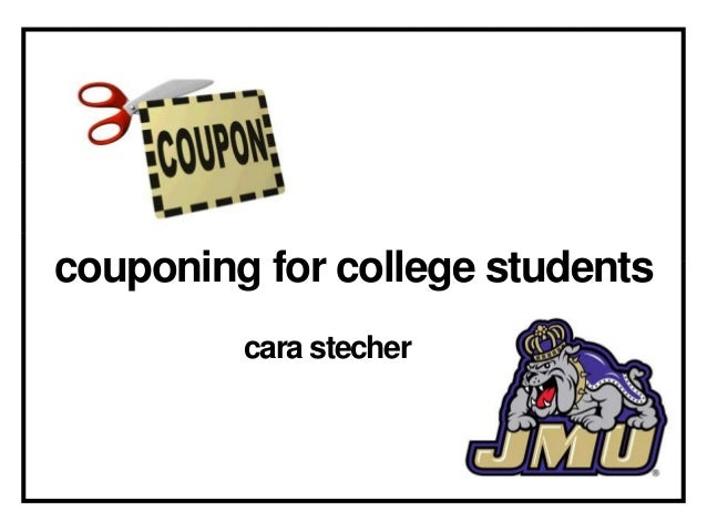 couponing for college students         cara stecher
