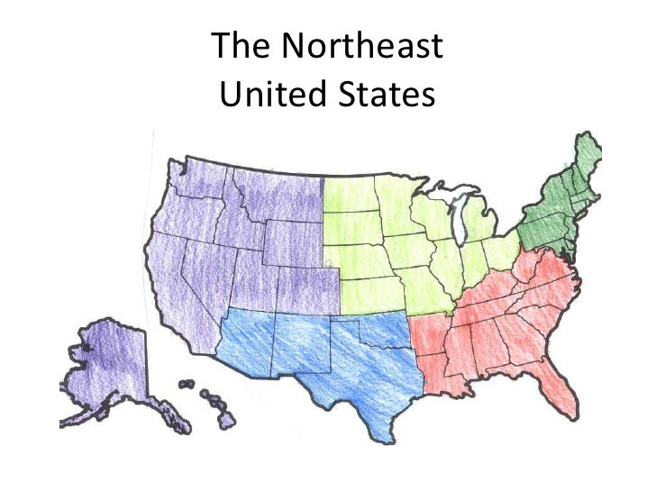 The NortheastUnited States