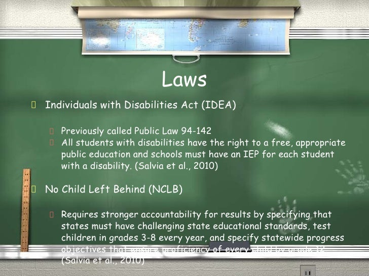 an analysis special education has fought to ensure students with disabilities He therefore works with families and children to ensure access to  application of special education law for students with disabilities: an historical analysis.