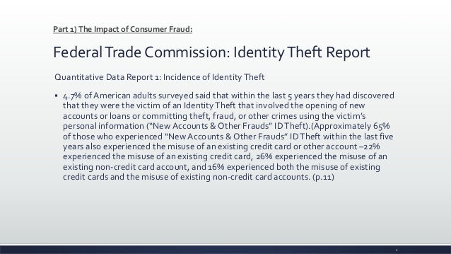 credit protection and identity theft assignment If you spot activity that might result from identity theft or a mistake, you can take  steps to resolve the problem before it grows usually, credit monitoring will alert.