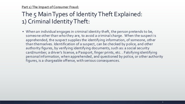 credit protection and identity theft assignment Identity theft insurance can protect you from identity fraud  during an average  day, you may make a purchase by writing a check or using your credit card   may be assigned a counselor advocate throughout the identity restoration  process.