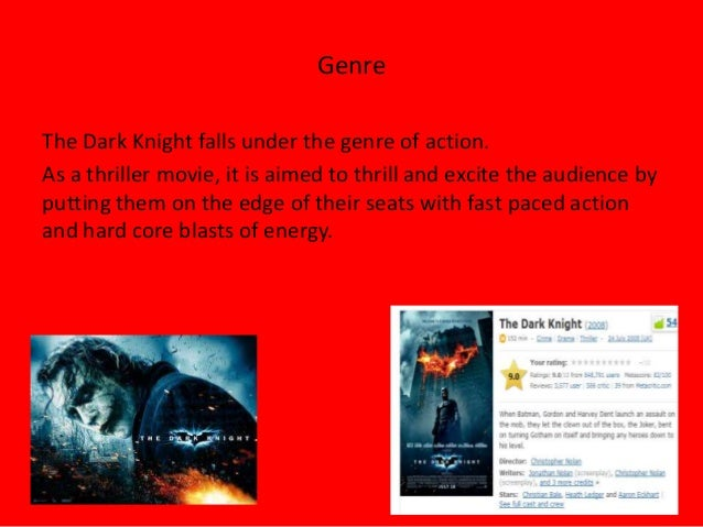 an introduction to the analysis of thriller film genre Thriller by michael jackson thriller introduction the film would go on to become iconic in the world of music videos.