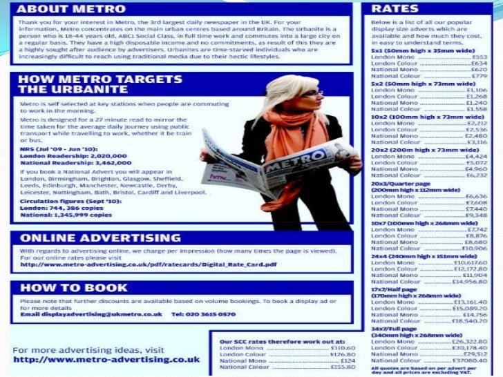 Uk newspaper pdf metro