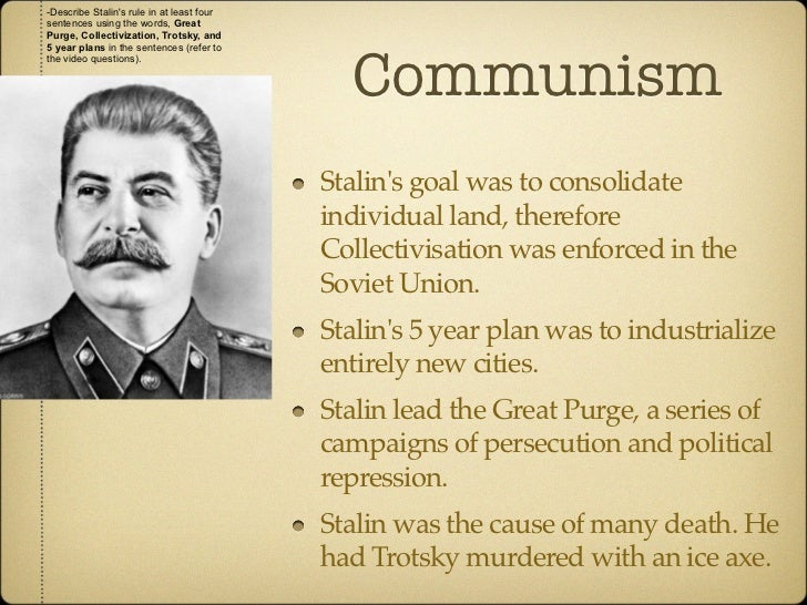 totalitarianism and purge increase stalin Stalins role in the purges of the 1930s history essay  to view the increase in victims of the purges  the conflicted arguments on the role of stalin in the .