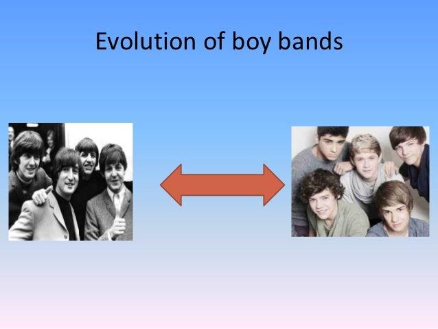Evolution of boy bands