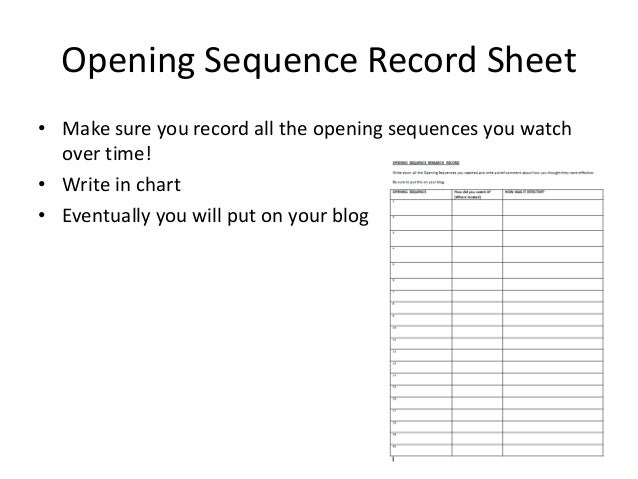 """analysis of the opening sequence of clueless """"titanic"""" opening sequence review the beginning of the opening sequence """"the notebook"""" opening sequence analysis."""